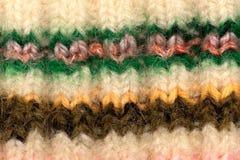 Tessuto di lana Fotografia Stock