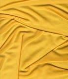 Tessuto di maglia giallo Immagini Stock