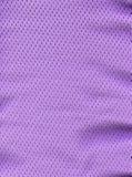 Tessuto di maglia viola Fotografia Stock Libera da Diritti