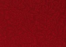 Tessuto di rosa di colore rosso Fotografia Stock