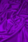 Tessuto di seta viola 2/del raso Fotografia Stock Libera da Diritti