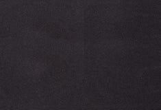Tessuto di tessile nero Fotografie Stock