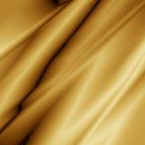 Tessuto dorato Immagine Stock Libera da Diritti