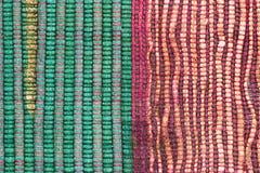 Tessuto e bambù del panno fotografie stock libere da diritti