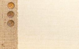 Tessuto e tela da imballaggio immagine stock libera da diritti