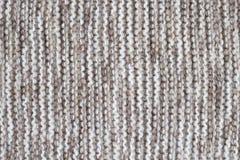 Tessuto fatto di lana Immagine Stock Libera da Diritti