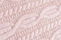 Tessuto fatto di lana Immagini Stock