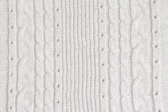 Tessuto fatto di lana Immagini Stock Libere da Diritti