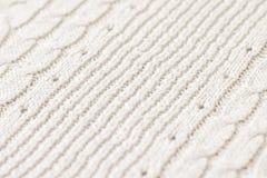 Tessuto fatto di lana Fotografia Stock Libera da Diritti