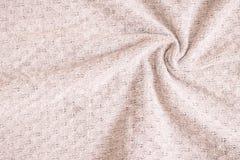 Tessuto fatto di lana Fotografia Stock