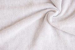 Tessuto fatto di lana Immagine Stock