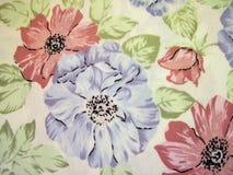 Tessuto floreale fotografia stock libera da diritti