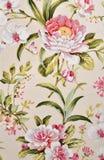 Tessuto floreale fotografia stock