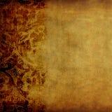 Tessuto floreale dell'annata Fotografia Stock