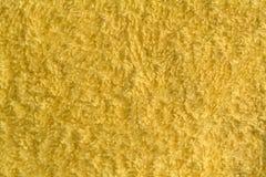Tessuto giallo Fotografie Stock