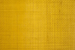 Tessuto giallo Fotografia Stock Libera da Diritti