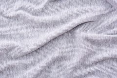 Tessuto grigio corrugato Fotografie Stock