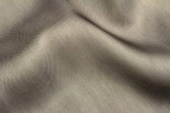 Tessuto grigio elegante del raso Fotografia Stock Libera da Diritti