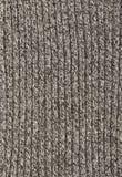 Tessuto lavorato a maglia grigio Immagine Stock