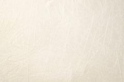 Tessuto leggero di tela bianco il bordo anziano Fotografie Stock Libere da Diritti