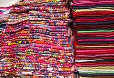 Tessuto moderno di Colorfol Fotografie Stock