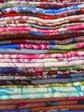 Tessuto moderno di Colorfol Fotografia Stock Libera da Diritti