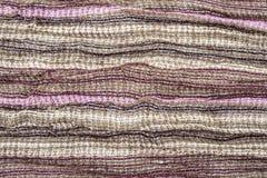 Tessuto multicolore Fotografia Stock Libera da Diritti