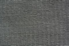 Tessuto nero del tessuto Fotografia Stock