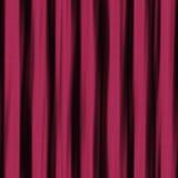 Tessuto piegato come progettazione di struttura nel fondo di colore rosso Immagini Stock Libere da Diritti