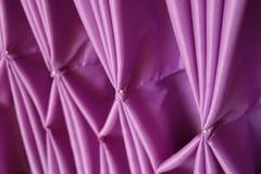 Tessuto pieghettato fermo Fotografia Stock Libera da Diritti