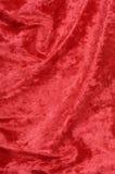 Tessuto rosso Immagini Stock