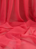 Tessuto rosso. fotografie stock