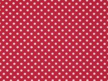 Tessuto rosso del tricot Immagini Stock Libere da Diritti