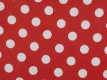 Tessuto rosso dell'acetato immagine stock