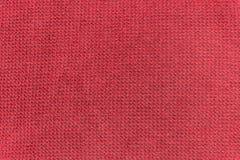 Tessuto rosso di struttura fotografia stock libera da diritti