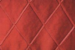 Tessuto rosso lussuoso come priorità bassa Immagini Stock