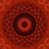 Tessuto rosso Shimmery Fotografia Stock Libera da Diritti