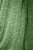 Tessuto sciolto verde Fotografia Stock