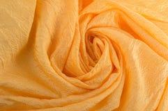 Tessuto a spirale dell'oro. Fotografie Stock Libere da Diritti