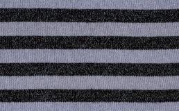 Tessuto a strisce Fotografia Stock