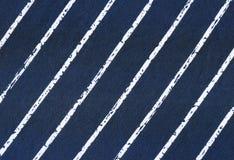 Tessuto a strisce Fotografie Stock