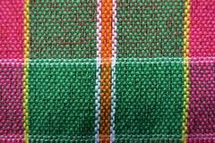 Tessuto a strisce Tailandia Immagine Stock