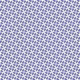 Tessuto strutturato Backgroun di progettazione decorativa blu e bianca di turbinio Fotografia Stock