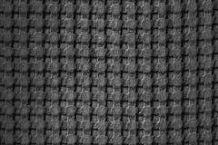 Tessuto strutturato, cellula grande di disegno Priorit? bassa in bianco e nero fotografia stock libera da diritti