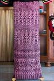 Tessuto tailandese Fotografie Stock