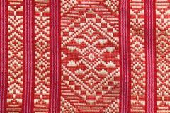 Tessuto tailandese tradizionale Fotografia Stock Libera da Diritti