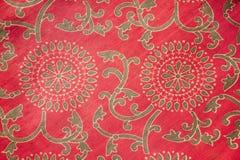 Tessuto tradizionale indiano Fotografie Stock