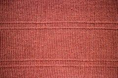 Tessuto tricottante a strisce della lana Fotografia Stock Libera da Diritti