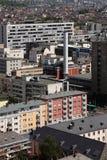 Tessuto urbano moderno Fotografia Stock Libera da Diritti