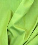 Tessuto verde fotografia stock libera da diritti